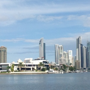 The stunning skyline of Surfers Paradise.