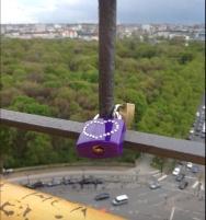 Love lock, The Victory Column - Berlin