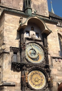 Prague's Astronomical Clock dating back to the 1400s.