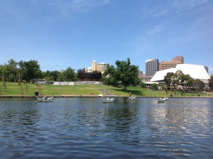 Cruising on the River Torrens