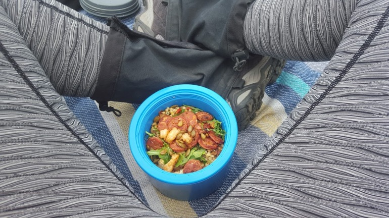 lunch on the track