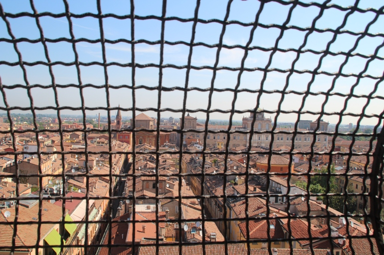View over Modena, Italy