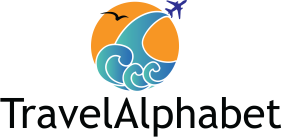 TravelAlphabet logo.