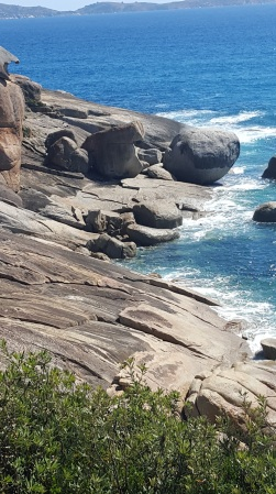 Rocky outcrops at Squeaky Beach, Wilson's Prom